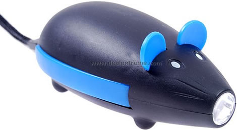 Råtta som miljövänlig ficklampa