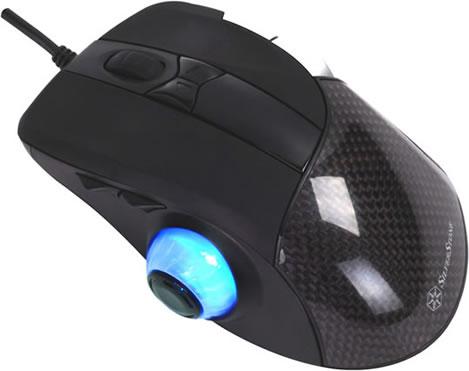 USB-mus för gamers från SilverStone