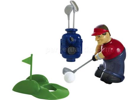 Radiostyrd golfspelare