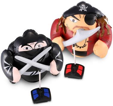 Radiostyrd ninja och pirat