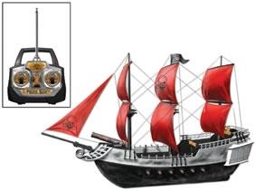 Radiostyrt piratskepp