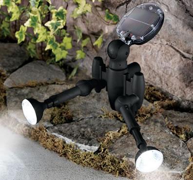 Soldriven utebelysning