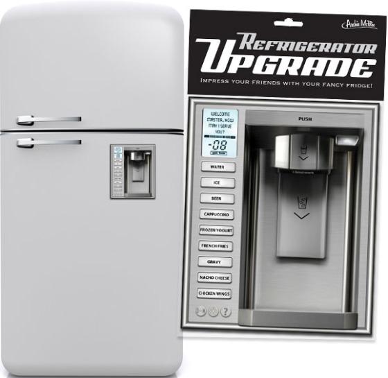 Kylskåpsuppgraderingsmagnet