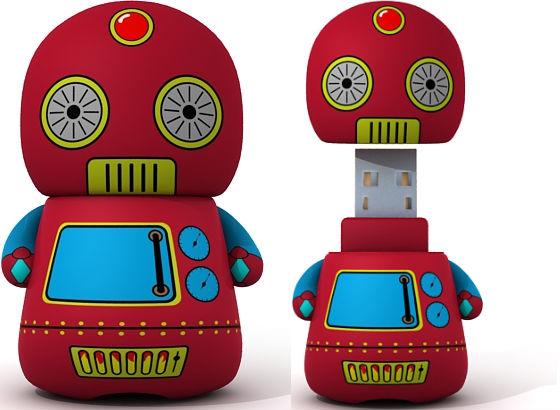 Leksaksrobot USB-minne