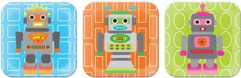 Robot-tallrikar