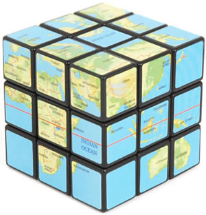 Rubik's Cube Earth