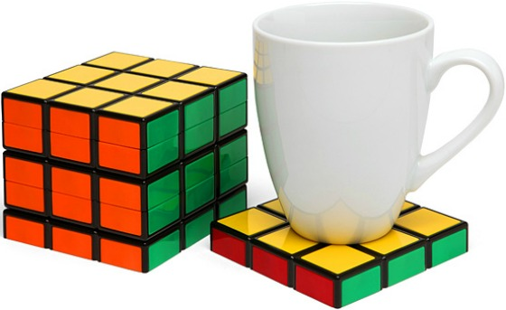 Rubiks kub drinkunderlägg