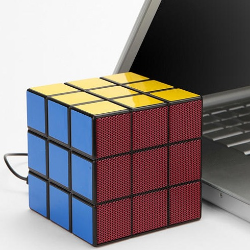 Rubiks kub som USB-högtalare