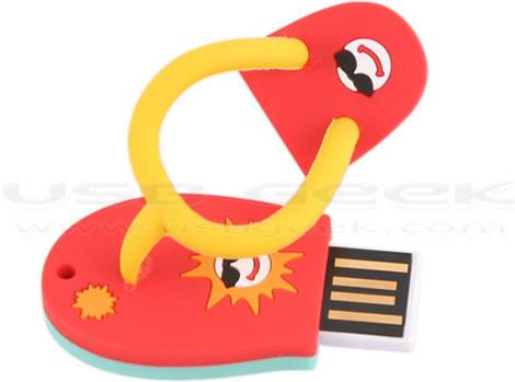 Sandal som USB-minne