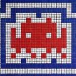 Rubiks Kub Mosaik