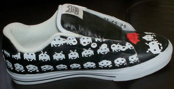 Space Invaders-skor