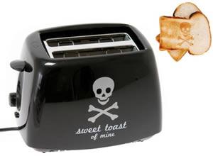 Totenkopf Toaster SKULL-Toast