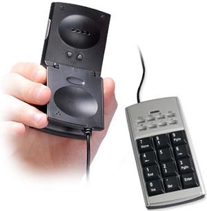 Nummersats med Skype-telefon