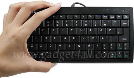 Slimmat tangentbord