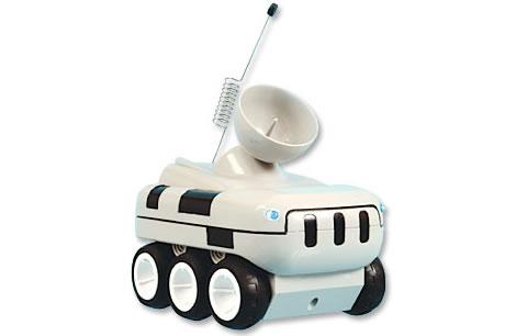 Radiostyrd tjuvlyssnarrobot