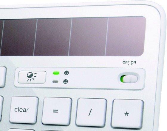 Solcellsdrivet tangentbord för Mac från Logitech