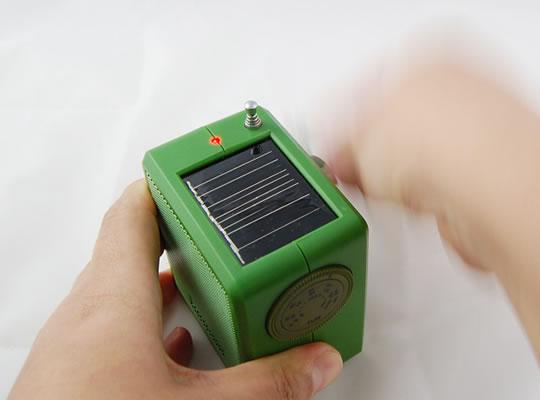 Miljövänlig radio