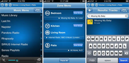 Sonos nätverksspelare för iPhone och iPod