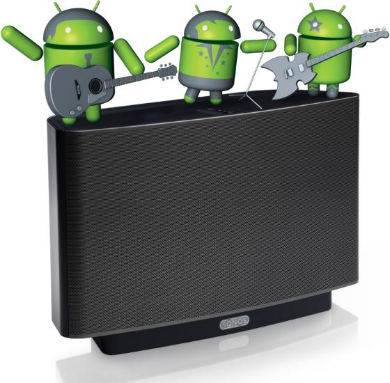 Sonos Controller för Android