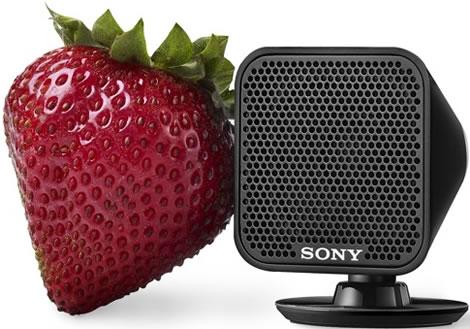 Pettysmå högtalare från Sony