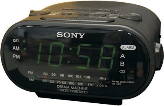Sony väckarklocka med spionkamera
