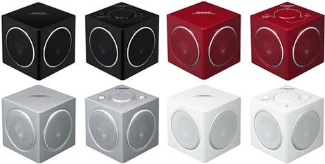 2-kanaliga små högtalare