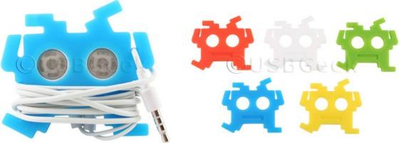 Space Invaders hörlurshållare