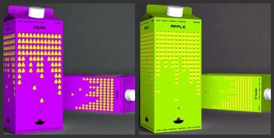 Space Invaders-juice