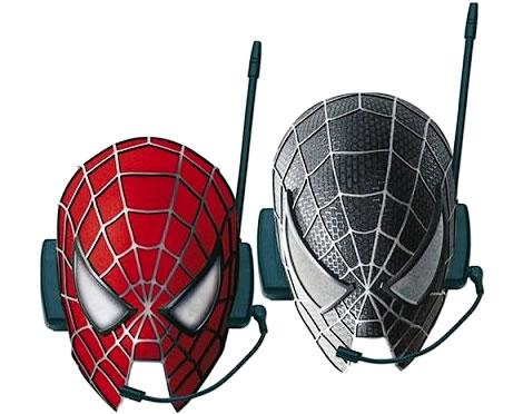 Spiderman-masker med interkom