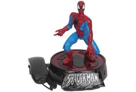 Spider-Man som telefon