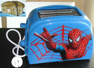 Spider-Man brödrost
