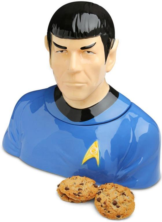 Spock från Start Trek som kakburk