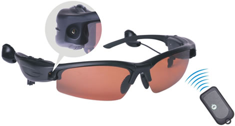 Spionsolglasögon