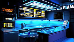 Star Trek Voyager lägenhet