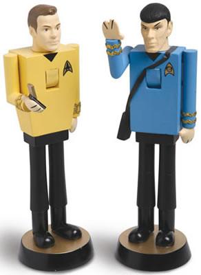 Star Trek nötknäppare (Kirk och Spock)