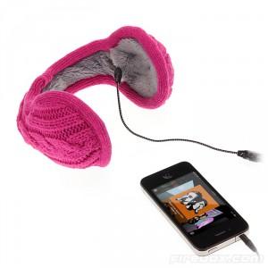 Stickade hörlurar