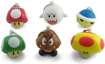 Super Mario nyckelringar