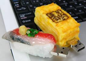 Sushi USB-minnen