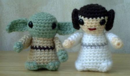 Yoda & Leia