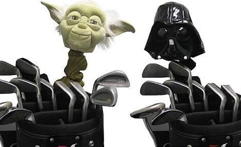 Star Wars för golfklubborna