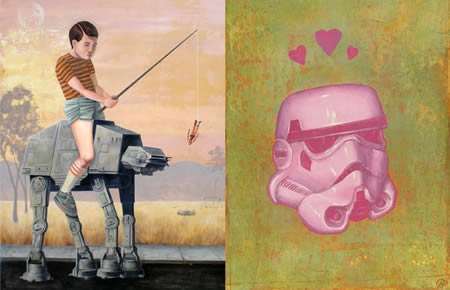 Star Wars-målningar