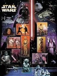 Star Wars-frimärken