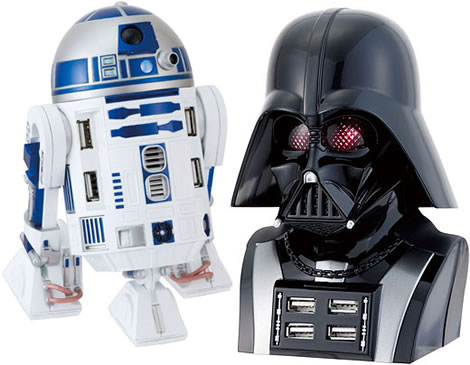 USB-bubbar i Star Wars-stil