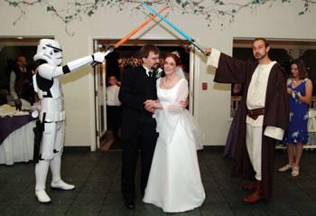 Star Wars-bröllop