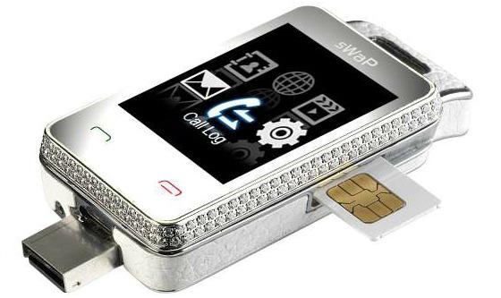 sWaP Nova - världens minsta mobiltelefon