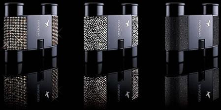 Kikare med Swarovski-kristaller