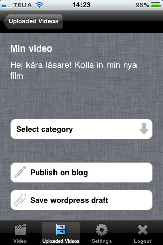 Videoblogga och tjäna pengar med ny app