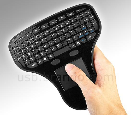 Trådlöst tangentbord med styrplatta