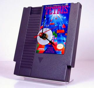 Tetris-klocka