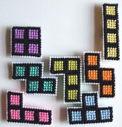 Tetris-magneter